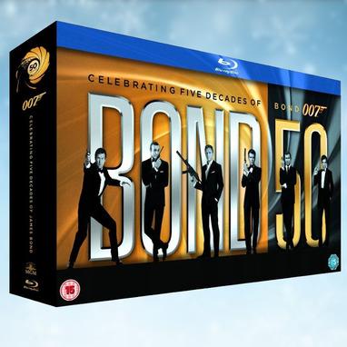 007 James Bond. 50-lecie (Blu-ray)