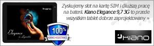 test Kiano Core 10.1 Dual 3G z modemem 3G